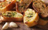 Pão de alho com ervas