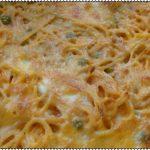 Esparguete no forno