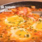 Ovos com tomate