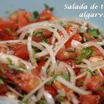 Salada de tomate algarvia